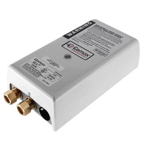 tankless water heater electrical connection ex8208 eemax ex8208 ex8208 flow controlled electric