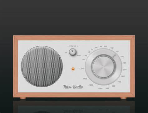 vector radio tutorial design a cool radio icon in photoshop tuts design