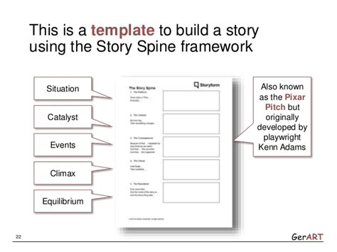 social story template gerard loosschilder webinar about storytelling for the