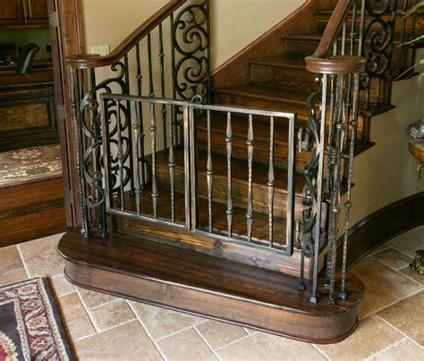 Install Banister Entry Stairs Mediterranean Staircase Other Metro