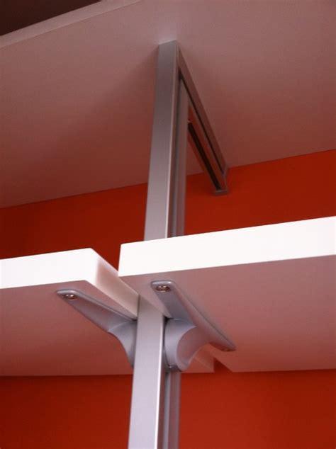 Aluminum Closet System by Closet Aluminum Pole System Closet