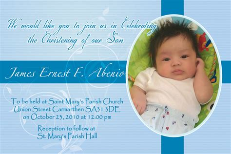 design layout of baptismal invitation invitation tarp james ernest baptismal filipino web