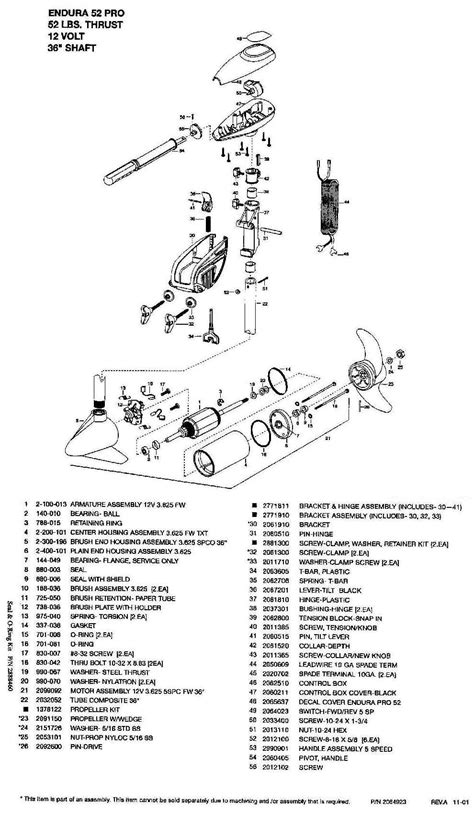 minn kota endura 50 parts diagram index of minnkota