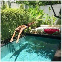 Bali Backyard Ideas 50 Modelos Piscina Pequena Para Inspirar Sua Reforma Ou