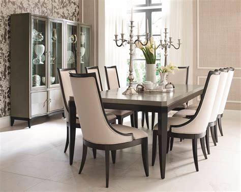 Modern Formal Dining Room Sets 9 piece legacy classic symphony dining set