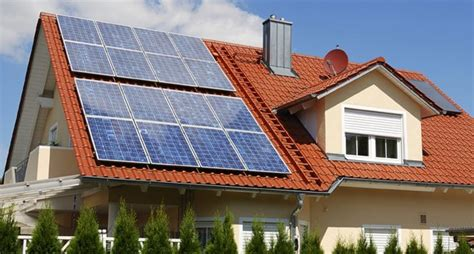 solar panels on roof choose a metal roof for your residential solar panel