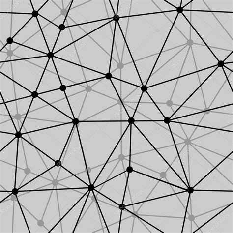 Abstract Pattern In Net | abstract black and white net seamless background stock