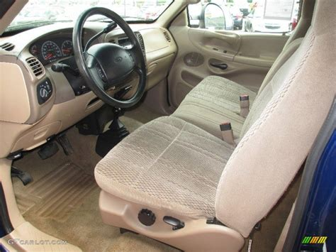 medium graphite interior 1997 ford f150 xlt extended cab