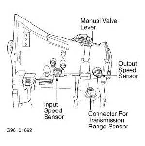 1998 dodge caravan speed sensor transmission problem 1998