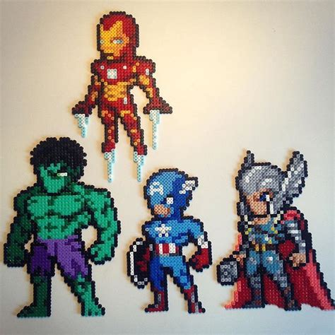 hama marvel hama perlen and on