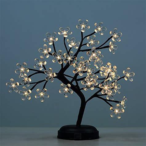 light up bonsai tree lightshare 18 inch flower led bonsai tree warm