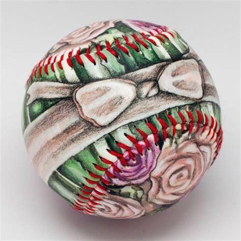 Unforgettaballs Painted Baseballs   ApolloBox
