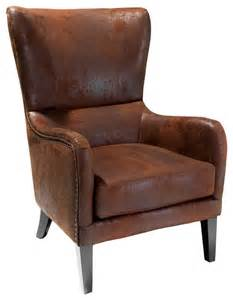 shop houzz gdfstudio clarkson wingback armchair