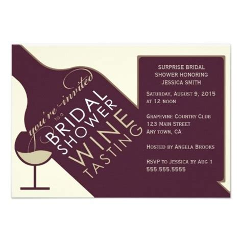 wine bridal shower invitations vintage wine themed bridal shower invitations bridal