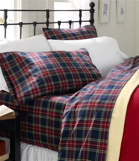 ll bean bed sheets heritage chamois flannel sheet set plaid sheet sets
