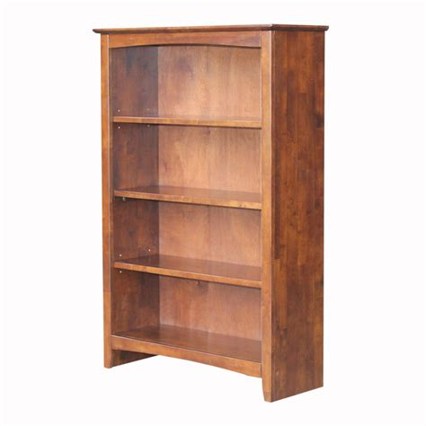 Espresso Finish Bookcase Kmart Com Kmart Bookshelves