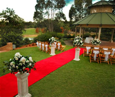 garden wedding sydney west colebee centre
