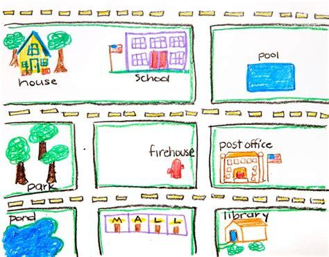 map of neighborhoods 2 nifty neighborhood crayola
