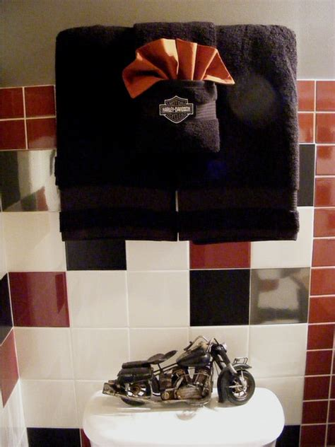 harleydavidson bathroom traditional bathroom