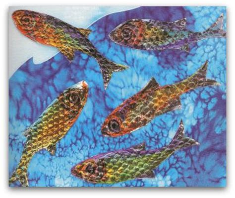 easy crafts  kids project  making shiny fish