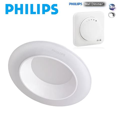 Philips 59722 Esscus 5w 40k Led Downlight Spot Cool White 71155 27k 40k 65k changeable 8 5w led downlight dimmer set discontinued停產 紅綠燈燈飾開倉 trilight