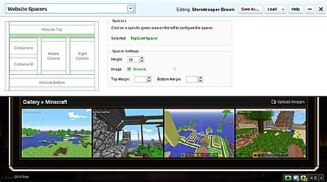 enjin theme editor guide home minecraft