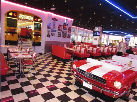 Deco De Table Americaine by D 233 Co Cuisine Diner Americain