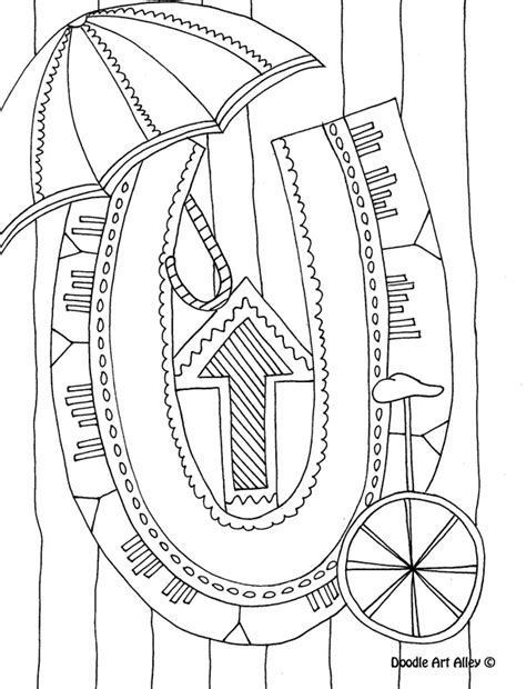 doodle alley name letter coloring pages classroom doodles