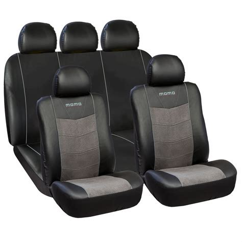 car seat pieces momo car seat covers momo pvc suede 11 pieces set
