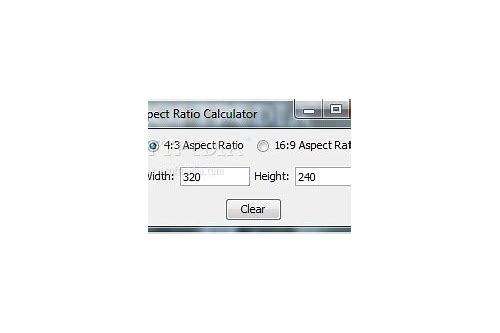 aspect ratio calculator download