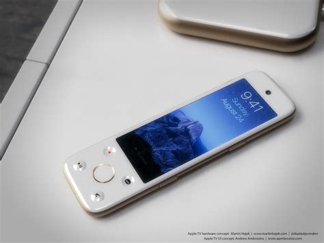 apple tv 4 a beautiful apple tv concept based on iphone 6 and apple