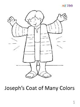 template of joseph s coat of many colors joseph coloring pages preschool coloring pages