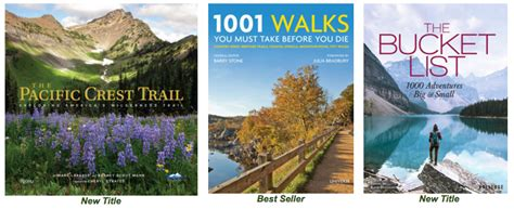 1001 walks you must take before you die country hikes heritage trails coastal strolls summer reading from rizzoli rizzoli new york