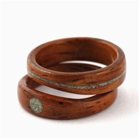 Recycled Wooden Wedding Ring From Gustav Reyes by Wood Rings By Simply Wood Rings
