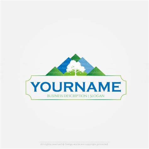 buy logo template buy a logo mountain view logo template