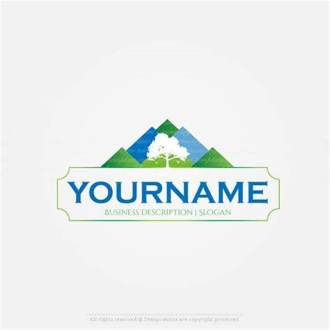 buy logo template buy a logo mountain view logo template