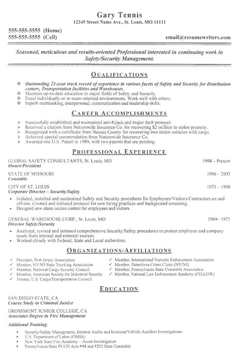 resume for security guard with no experience resume 10 photo sample security guard resume no