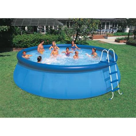 backyard pools walmart intex 18 x 48 quot easy set swimming pool walmart com