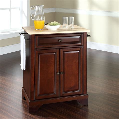 crosley kitchen islands crosley lafayette wood top kitchen island ebay