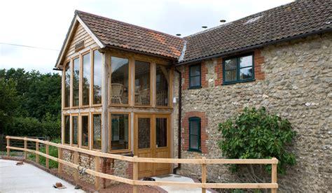 oak framed garden rooms extensions townsend timber