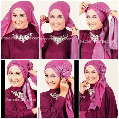 tutorial jilbab pesta terbaru 10 tutorial hijab pesta simpel tapi elegan 2017
