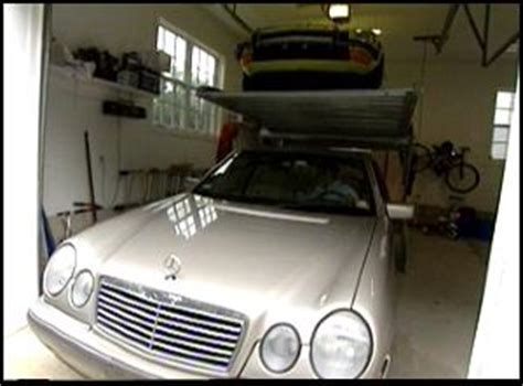 Stacking Cars In Garage by Stacking Cars In The Garage Parking Innovations