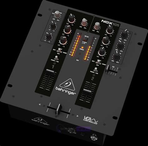 Mixer Behringer 2 Channel behringer nox101 2 channel dj mixer whybuynew