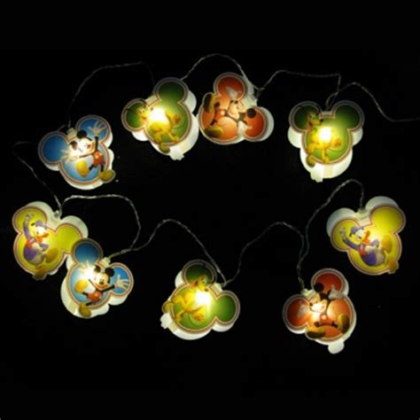 mickey mouse string lights lights and string lights