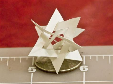 christmas ornament math project math craft monday community submissions plus how to make an orderly tangle of triangles