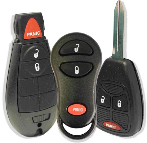 replacement chrysler keyless entry remotes key fobs