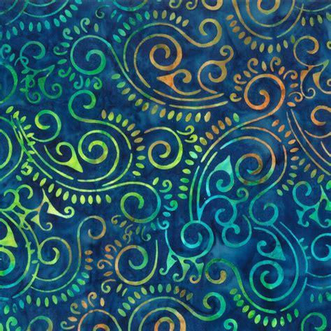 Batik Navy navy scroll batik 22162 475