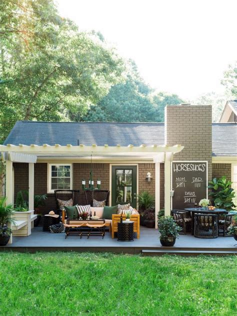 designed for outdoors 13 easy ways to extend your outdoor space into fall hgtv