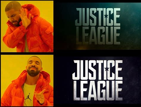Justice Meme - justice league better logo blank template imgflip