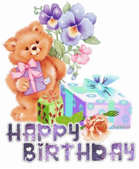 imagenes de happy birthday my friend glitter birthday wishes to share on facebook orkut